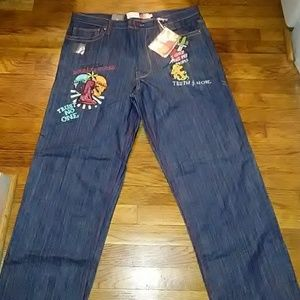 Men's NWT Embroidered Jeans